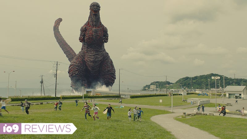 Illustration for article titled Shin Godzilla Is a Wonderfully Over-the-Top Satire of Japan-US Relations