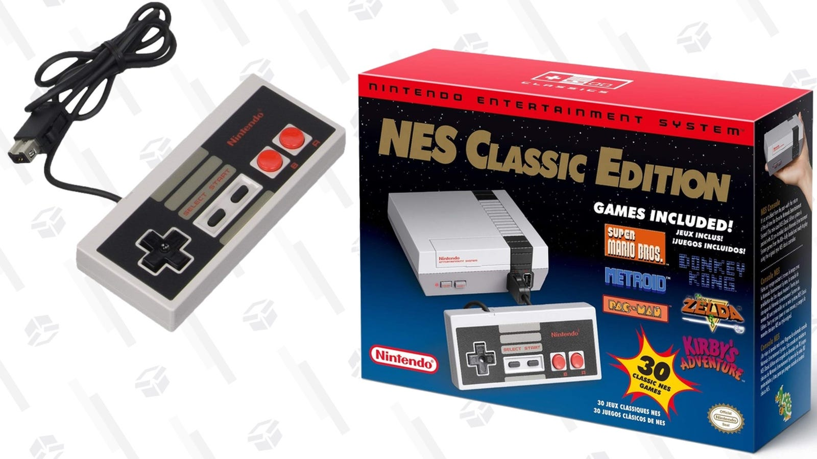 The Nes Classic And Spare Controllers Are Both In Stock