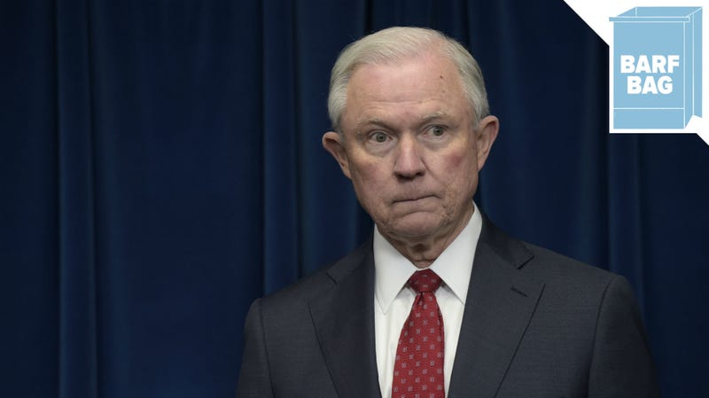Illustration for article titled Jeff Sessions Was Forced Out of His Favorite Job Ever