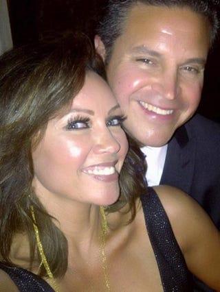 Vanessa Williams and her husband, Jim SkripCourtesy of Vanessa Williams