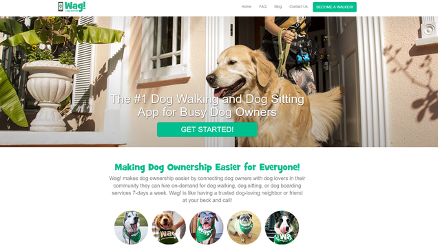 Dog Walking App Wag Which Is Kind Of Like An Uber For Dogs
