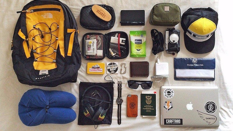 The Long Haul Flight Carry-On Bag
