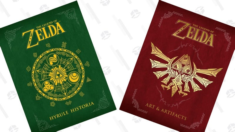 The Legend of Zelda: Hyrule Historia | $21 | AmazonThe Legend of Zelda: Art & Artifacts | $19 | Amazon