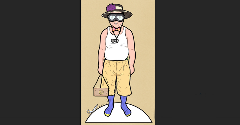 Illustration for article titled Comment Of The Day: Don't Dress Like A Millionaire, Dress Like An Eccentric One Edition