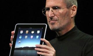 "Illustration for article titled Steve Jobs: Google's ""Don't Be Evil"" Mantra is ""Bulls***"""