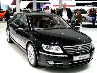 Illustration for article titled VW Phaeton Exclusive: Because Maybe They'll Buy It If It's More Expensive