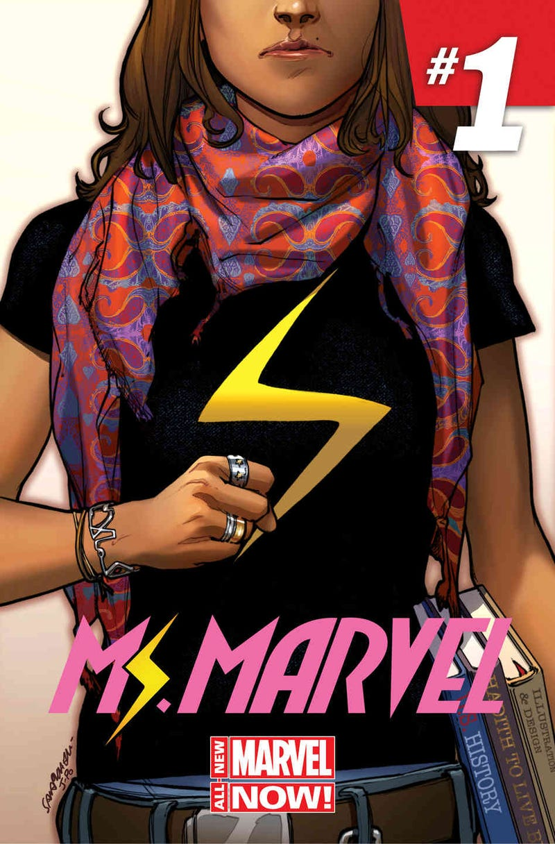 Illustration for article titled The new Ms. Marvel - so far so good (minimal spoilers)