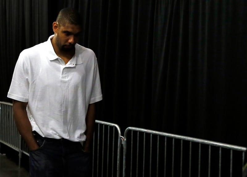 Illustration for article titled The Spurs' Rock Finally Cracks: Tim Duncan Needs Your Love Now