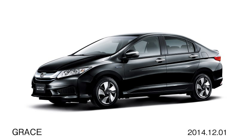 Illustration for article titled Honda Grace is the JDM, Fit sedan, you always wanted