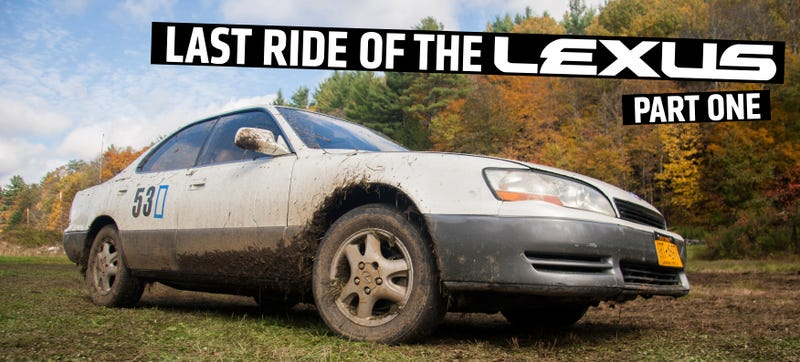 Illustration for article titled Here's What Happened When I Rallycrossed A $600 Lexus