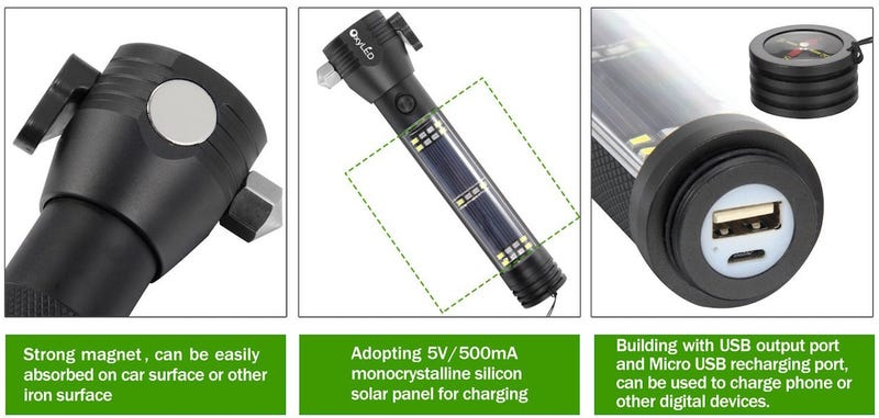 OxyLED MD10 Multi-functional Flashlight
