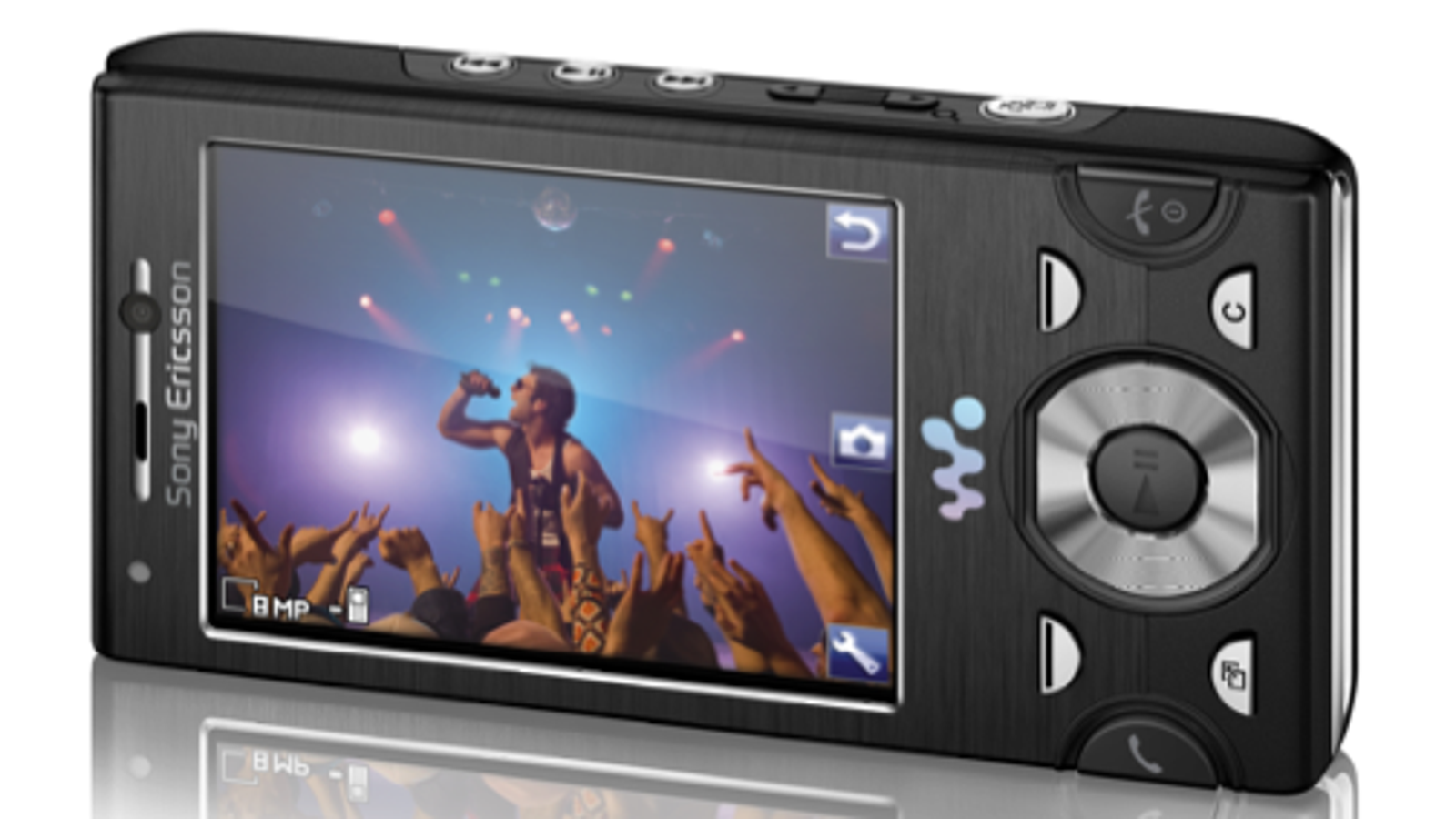 Sony Ericcson W995 Walkman Phone: 8MP, Wi-Fi, Media Server