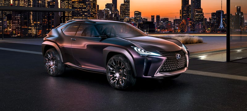 Illustration for article titled Every Part Of The Lexus UX Concept Looks Like It Can Kill You