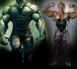 Illustration for article titled Hulk vs. Hulk on Gladiators