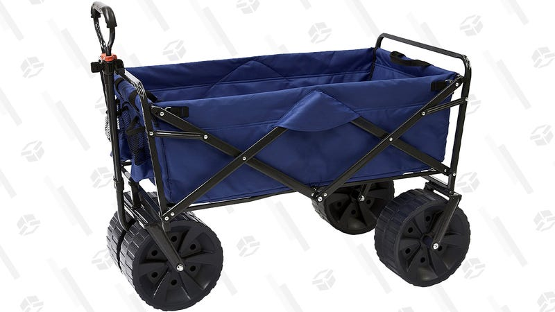 Mac Sports Heavy Duty Collapsible All Terrain Utility  Wagon | $90 | Amazon