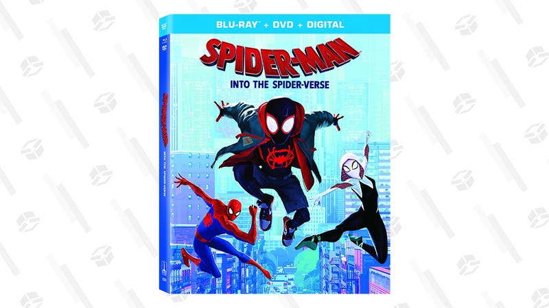 Spider-Man: Into the Spider-Verse (Multi-Format) | $18 | AmazonSpider-Man: Into the Spider-Verse 4K UHD (Multi-Format) | $20 | Amazon