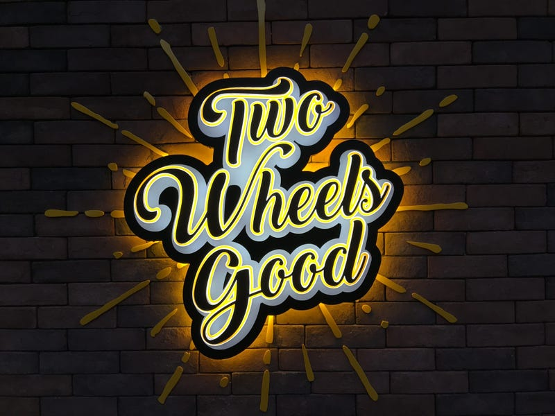 Illustration for article titled Two Wheels Good?