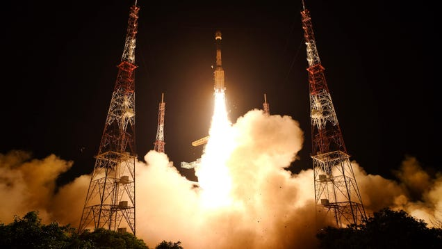Indian Rocket Carrying Earth-Monitoring Satellite Fails to Reach Orbit