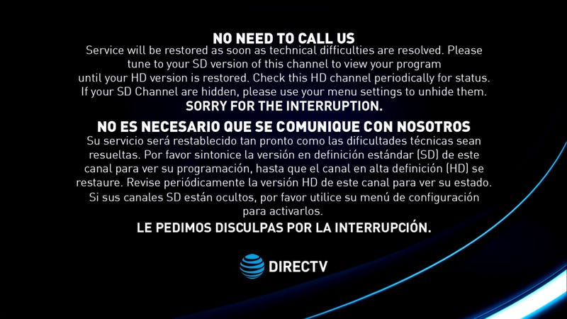 DirecTV Technical Issue Blocks Out Fox News and Republicans