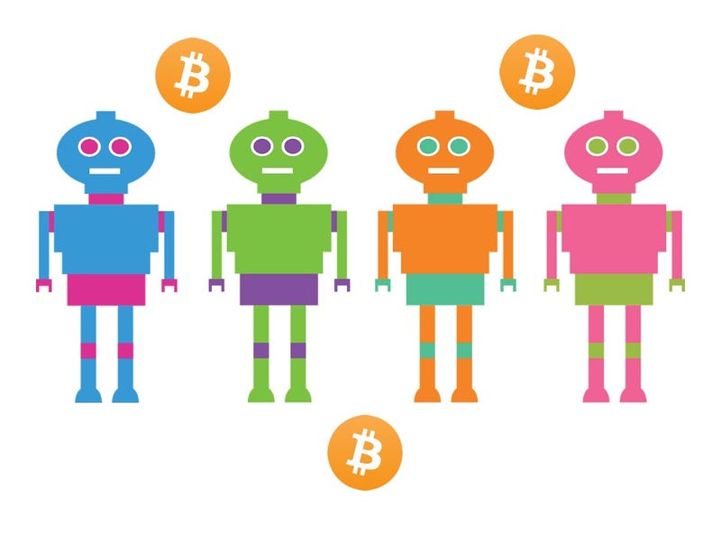 Illustration for article titled The Meeting of Bitcoins and Bots