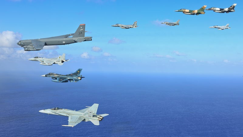Illustration for article titled This Pacific Air Drill Trains Allies To Both Save Lives And Take Them