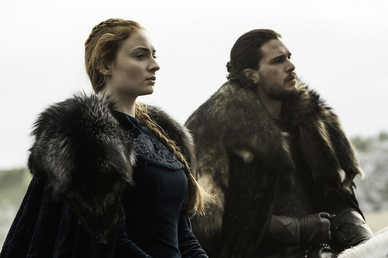 Sansa Fierce & the On Time Man-Bun
