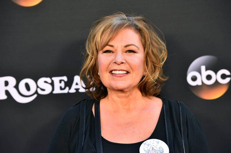 Roseanne Barr attends the premiere of ABC's 'Roseanne' at Walt Disney Studio Lot on March 23, 2018 in Burbank, California.