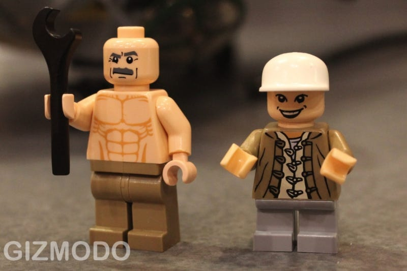 Illustration for article titled Short Round and Sean Connery's Papa Jones are My New Favorite Lego Minifigs