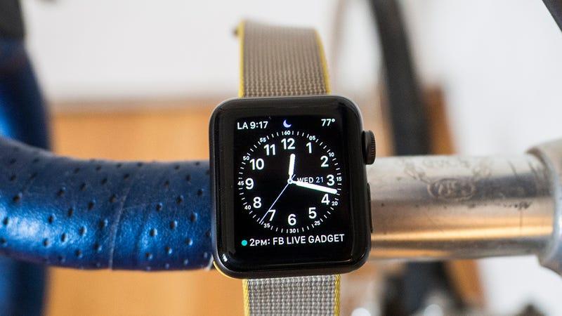 Apple Watch Series 1 38mm | $149 | WalmartApple Watch Series 1 42mm | $179 | Walmart