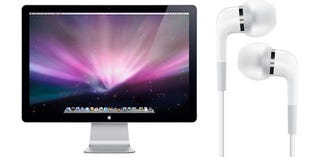 Illustration for article titled Apple Finally Ready to Ship LED Cinema Display and In-Ear Headphones?