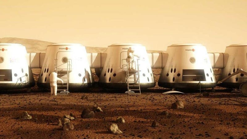 Illustration for article titled Up For Grabs: a Ticket to Mars. Tryouts Start in 2013.