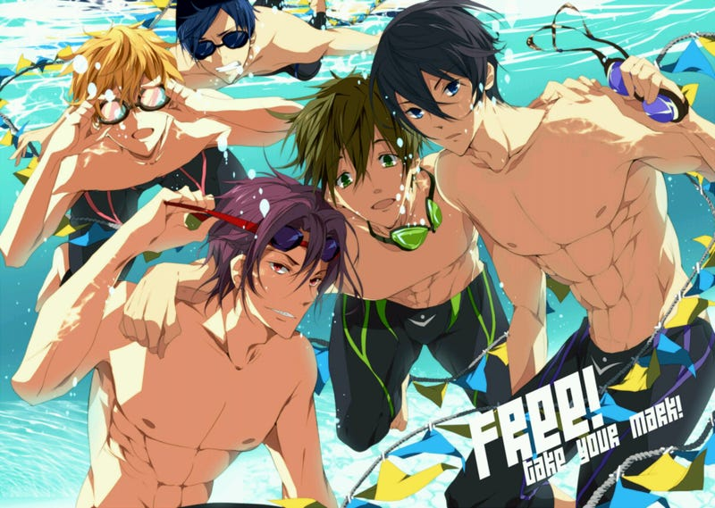 Illustration for article titled Fanservice and Anime - My problem with Free! and fanservice in general