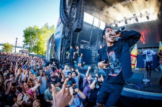 A$AP Rocky performing at the 2015 Roots Picnic in PhiladelphiaFacebook