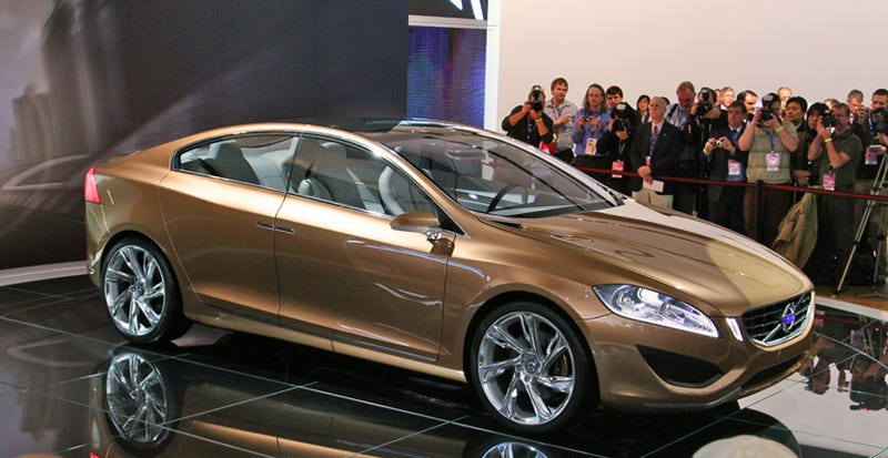 Illustration for article titled Volvo S60 Concept Revealed Live