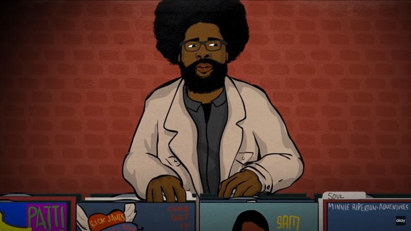 Illustration for article titled On Questlove's birthday, his story about Prince, Fela Kuti, and Finding Nemo