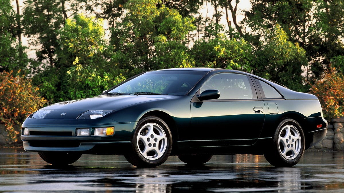 The Nissan Z32 300ZX Happened Because Its Designer Broke The