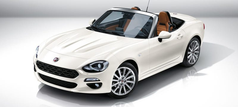 Illustration for article titled America Gets A More Powerful Fiat 124 Spider Than Pitiful Europe