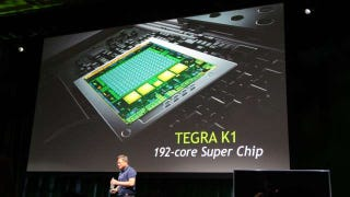 Illustration for article titled Holy Crap, Nvidia's New Tegra K1 Has 192 Cores?!
