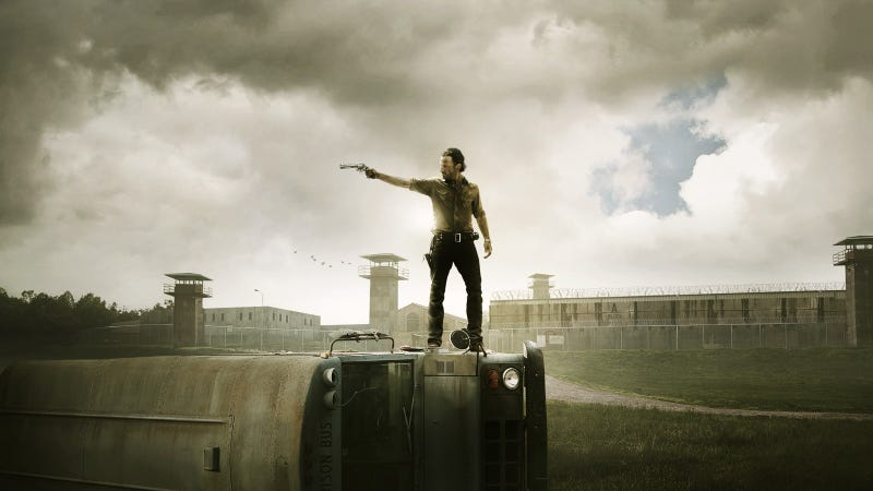 Illustration for article titled The Walking Dead sets viewing record