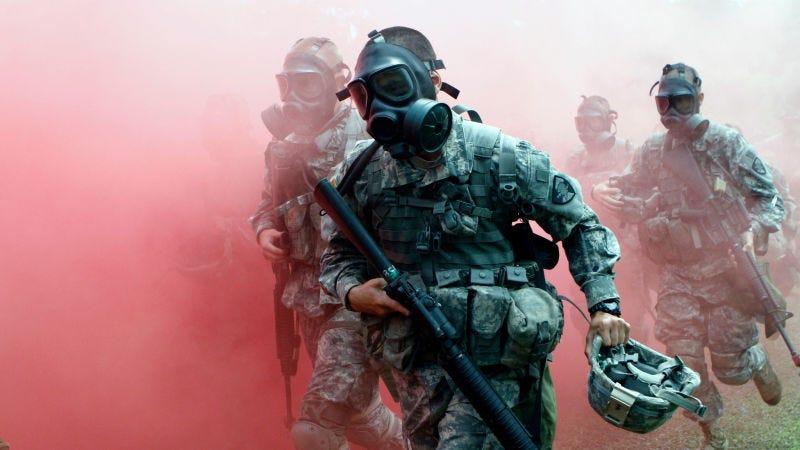 Illustration for article titled Así funcionan el sarín, el gas cloro y otras armas químicas de las que hablan en las noticias