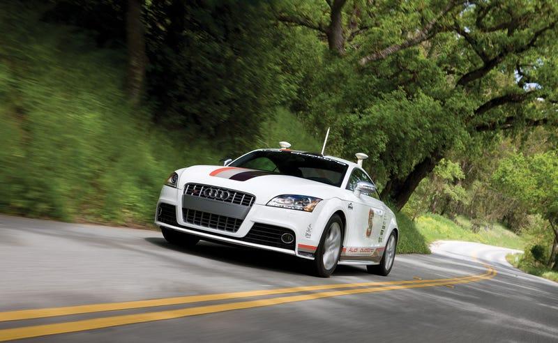 Illustration for article titled Autonomous Cars vs. Driving Enjoyment.  Discuss.