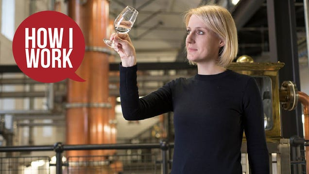 I m Anne Brock, Master Distiller at Bombay Sapphire, and This Is How I Work
