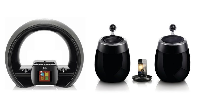 Illustration for article titled JBL and Philips Bring Us More Rare AirPlay Goodies, in the Shape of a Dock and Speakers