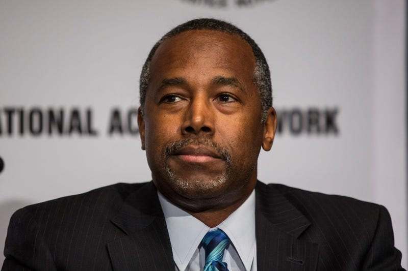 Ben Carson Andrew Burton/Getty Images