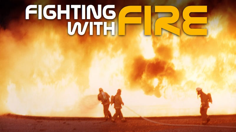 Illustration for article titled How NASA Rocket Technology Led To The Ultimate Fire-Fighting Weapon