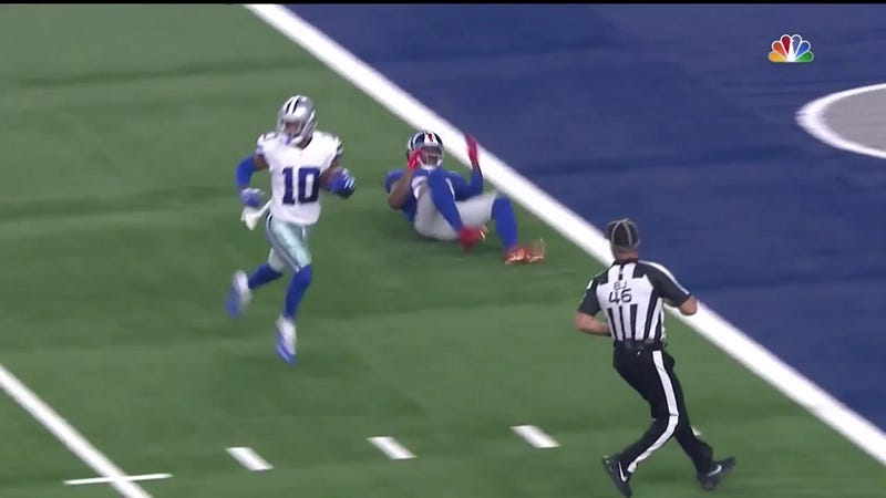 Illustration for article titled Tavon Austin Embarrasses Giants Secondary For First Touchdown In Two Years