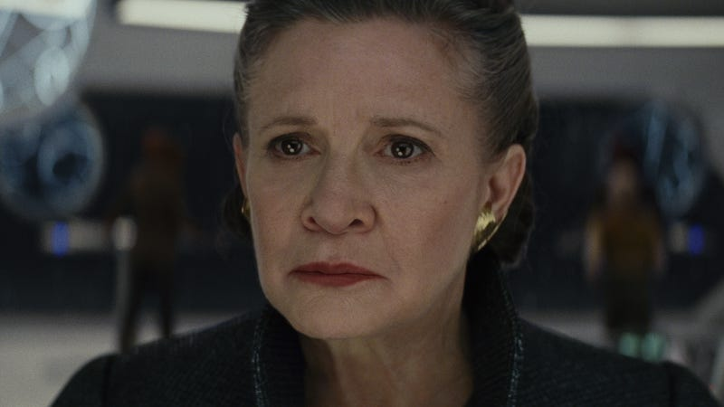 Fisher in Star Wars: Episode VIII—The Last Jedi