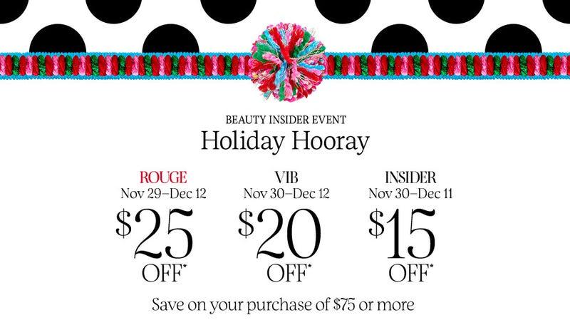 Beauty Insider Sale Event | Sephora | Promo code 2018HOORAY