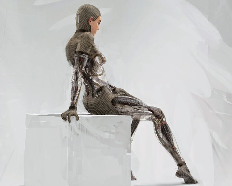 Illustration for article titled Director Alex Garland Explains Why Ex Machina Is So Disturbingly Sexy