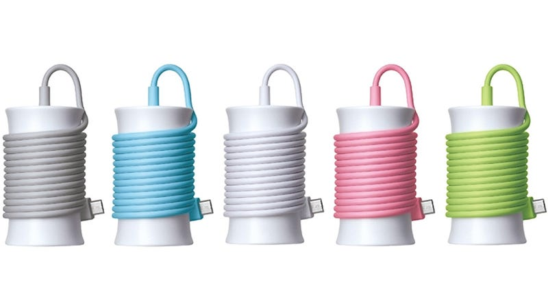 Illustration for article titled Adorably Wrap Your iPhone Charger Like a Needle and Thread